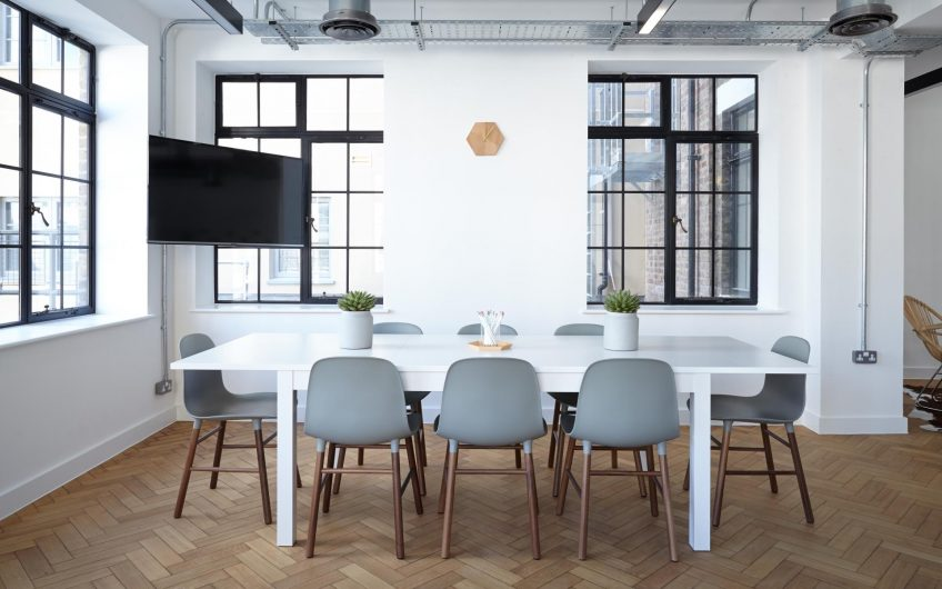 Furnished co-working space